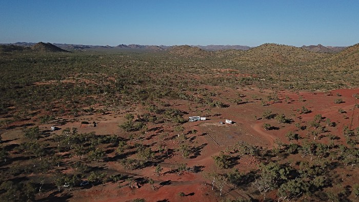 Free Camping at Mary Kathleen Ghost Town Qld