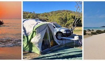 Moreton Island Camping feature