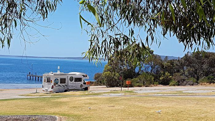 Port Lincoln Tourist Park Campsite