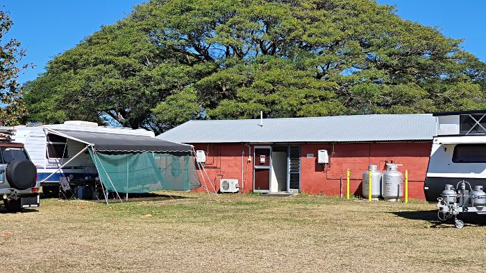 Riverside Cinvention Centre Townsville Camping Amenities and Laundry