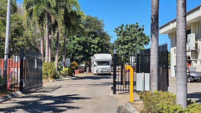 Riverside Convention Centre Townsville Camping Ground Gated Entry