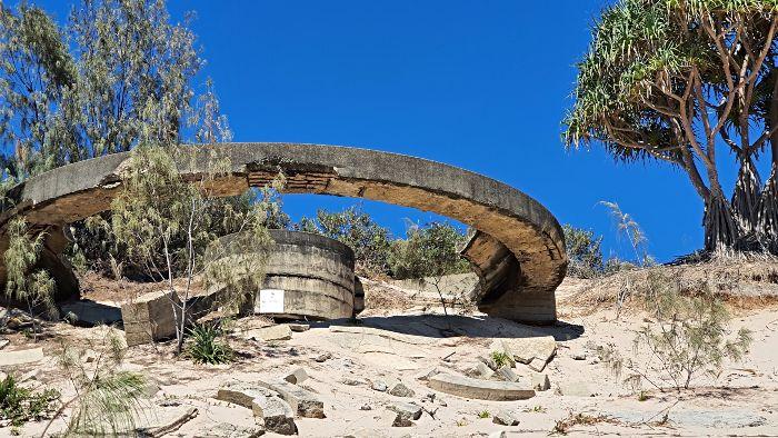 Rous Battery Moreton Island