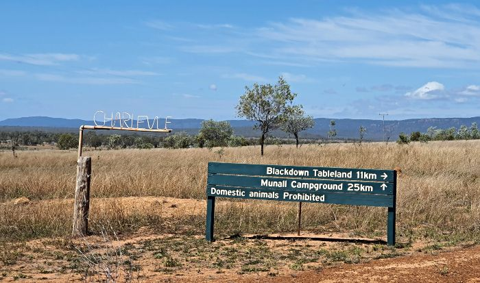 Blackdown Tablelands Domestic animals prohibited