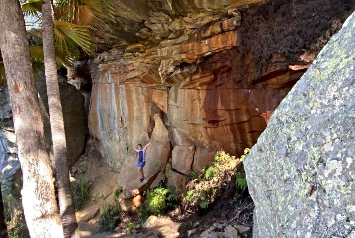 Blackdown Tablelands Rock Art